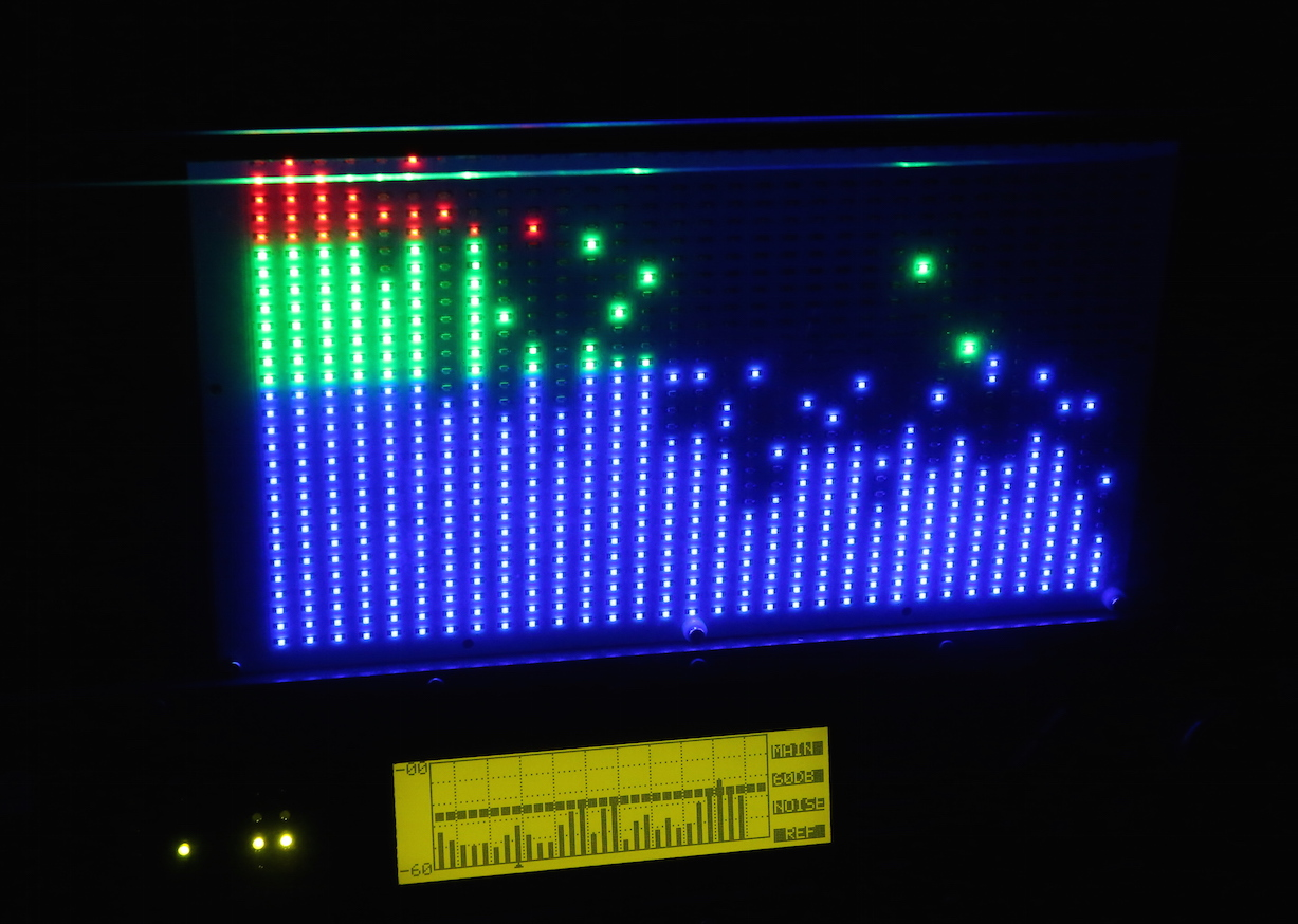 80s spectrum analyzer